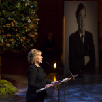 Former Secretary of State Hillary Clinton remembers Edgar M. Bronfman (Photo: Business Wire)
