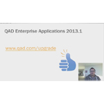 We spend a lot of time at QAD thinking about products, processes and people and how they all relate; with QAD Enterprise Applications 20131.1 that's exactly what we focused on. Learn more about the updates to Analytics, Enterprise Asset Management (EAM), Supply Chain Portal (SCP), Trade Promotions Management (TPM), and much more.