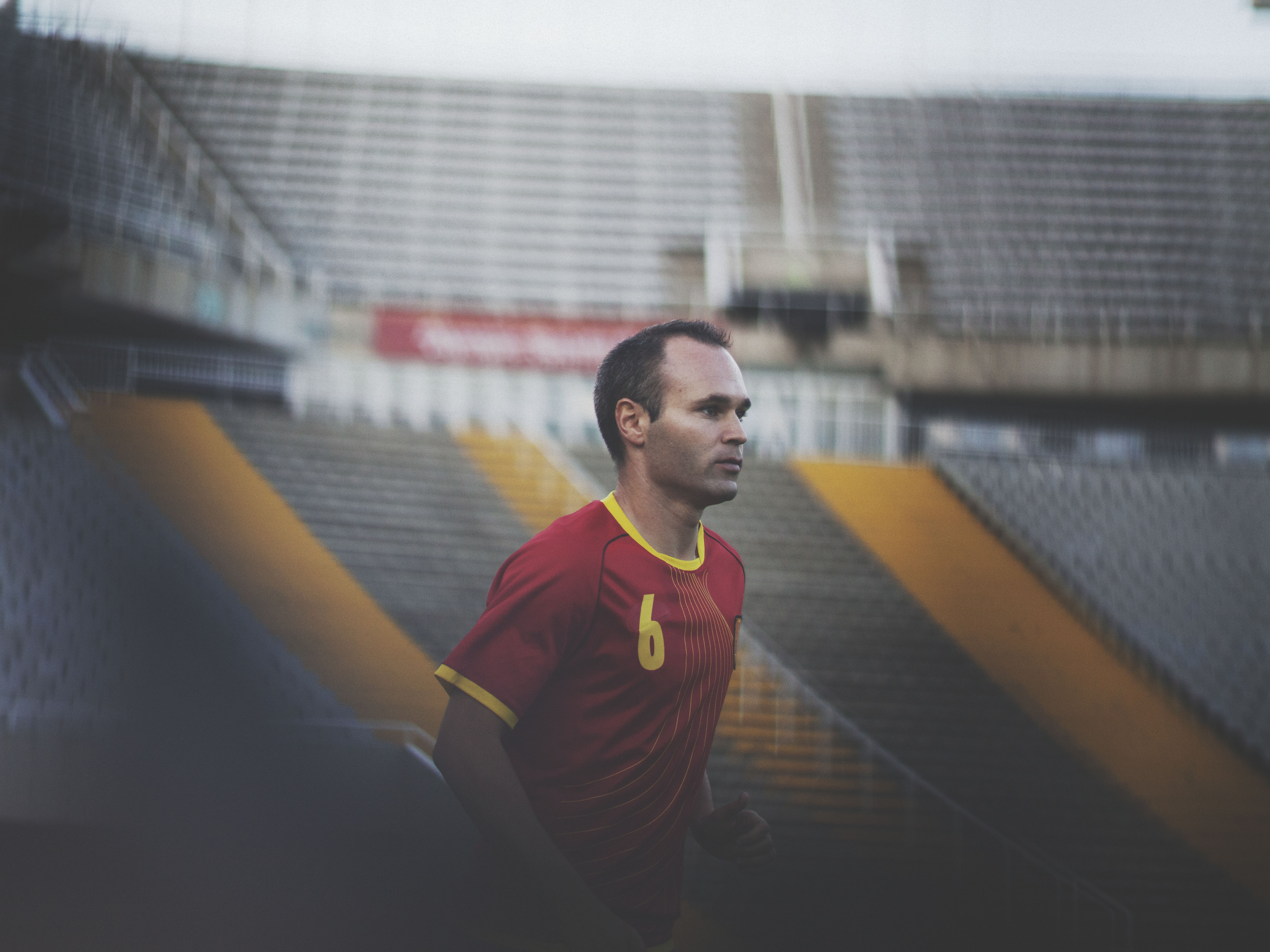 Andres Iniesta who memorably scored Spain's winning goal in the 2010 FIFA World Cup(TM) Final, will be featured in the new Powerade campaign for the 2014 FIFA World Cup(TM).