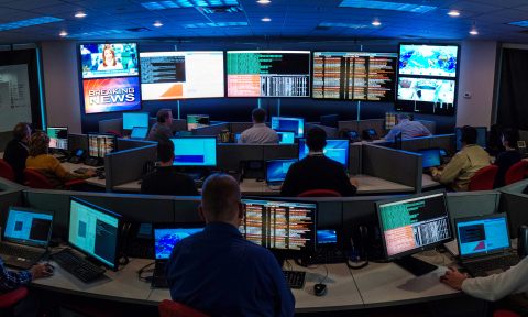 Inside CBTS' Threat Intelligence Center (Photo: Business Wire)