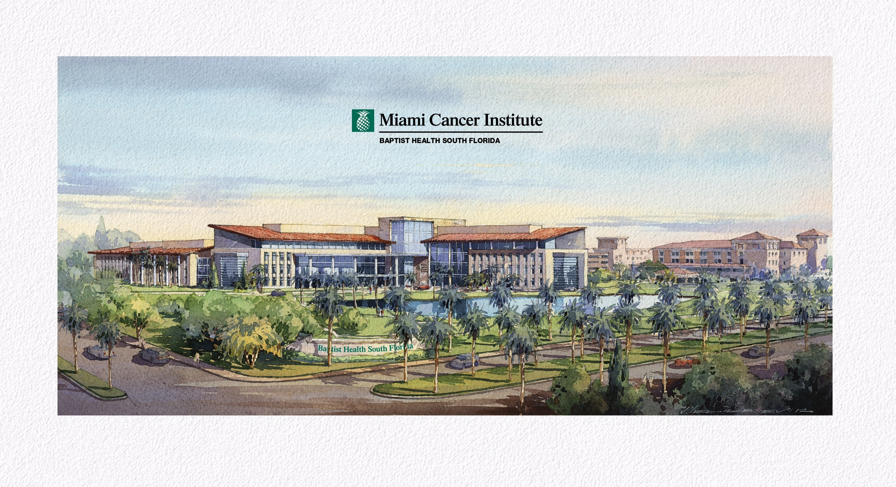 The new Miami Cancer Institute at Baptist Health South Florida is scheduled to break ground in July. (Graphic: Business Wire)