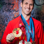 Speed skating Olympic medalist will return to Utah to sign autographs at free Feb. 7 community party in Provo, Utah. (Photo: Business Wire)