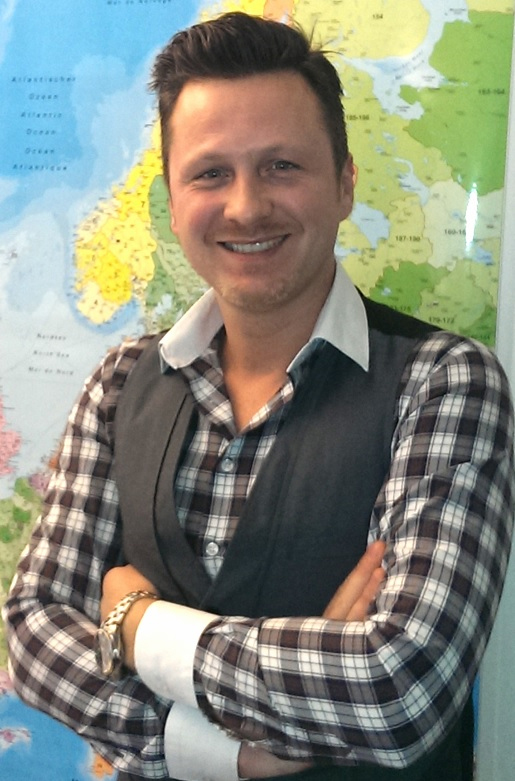 Chucko Beslic, manager of C.H. Robinson's Innsbruck, Austria office. (Photo: Business Wire)
