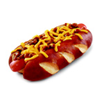 SONIC Drive-In's new Chili Cheese Pretzel Dog, topped with SONIC's signature chili and melted cheese, gives customers the best of both worlds and marries two delicious and iconic flavors in an unexpected way. (Photo: Business Wire)