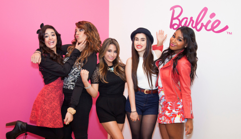 "Pop Sensation Group Fifth Harmony voices new anthem ""Anything Is Possible"" for Barbie(R) Brand. Lyric Video Premieres Today on Barbie.com (Photo: Business Wire)"