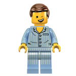 Regal Entertainment Group announces free Limited Edition LEGO Minifigure Pyjamas Emmet exclusively for Regal Crown Club members. Image Source: Warner Bros Pictures, in association with Village Roadshow Pictures, in association with LEGO System A/S.