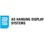 New logo for AS Hanging Systems, which was introduced on their web site, www.ashanging.com, on January 30, 2014. (Graphic: Business Wire)