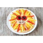 You and your family can have a roaring good time enjoying individual lion-faced mango pizzas. (Photo: Business Wire)