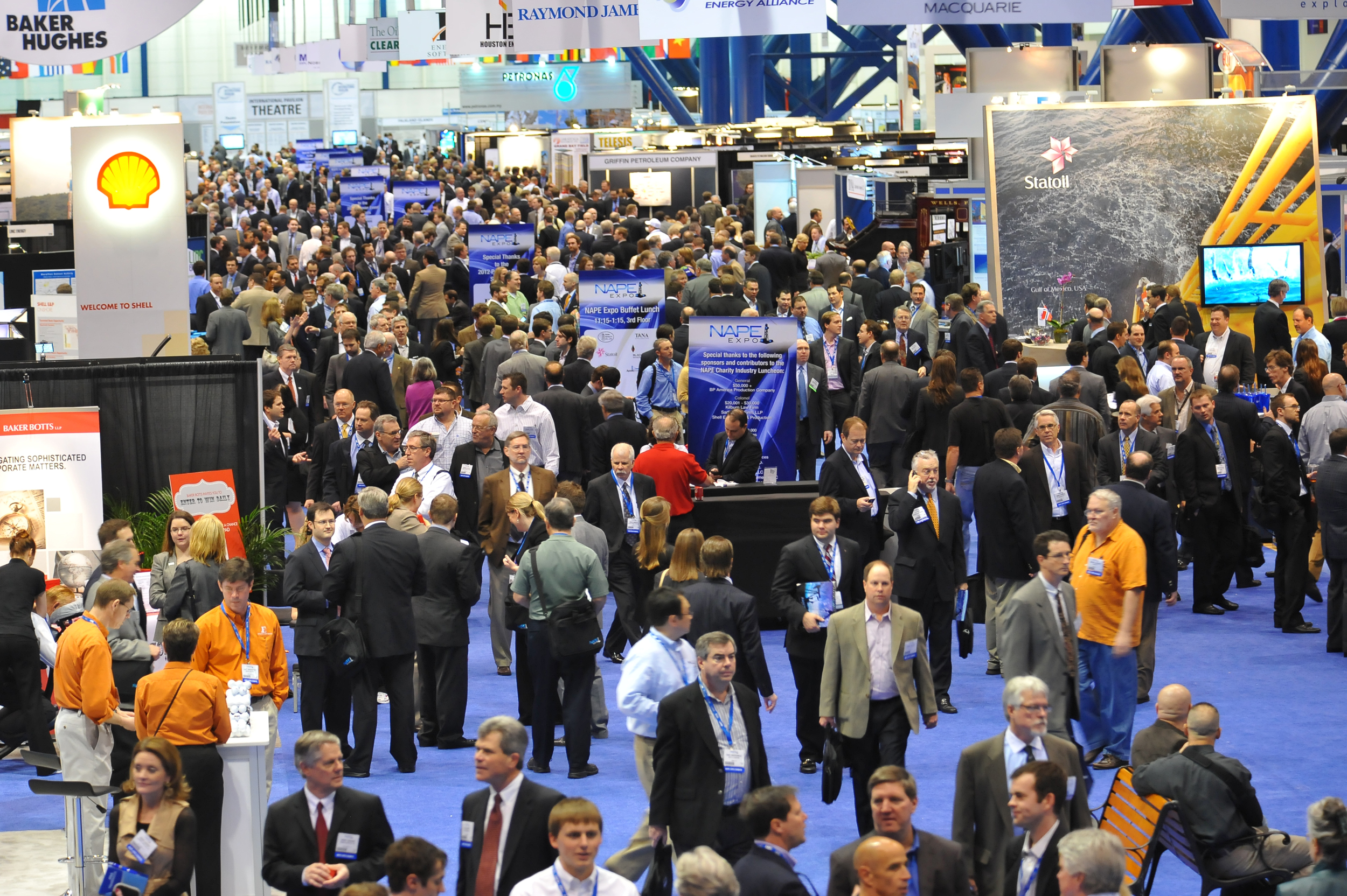 """Thousands of attendees and hundreds of exhibitors meet in Houston for what is known as, """"THE"""" marketplace for buying, selling and trading of oil and gas prospects and producing properties. (Photo: Business Wire)"""