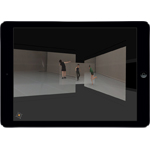 Deborah Hay's Whole Point Space for iPad (Photo: Business Wire)