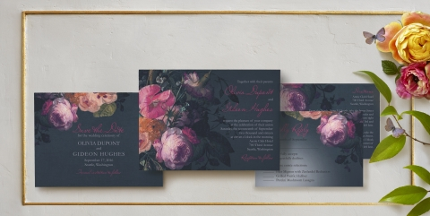 Midnight Bouquet by Claire Pettibone for Wedding Paper Divas (Graphic: Business Wire)