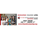 Stars Scholarship Fund billboards running in El Paso, TX (Photo: Business Wire)
