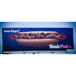 Pink's Hot Dogs benefits from the flexibility of advertising on digital billboards. (Photo: Business Wire)