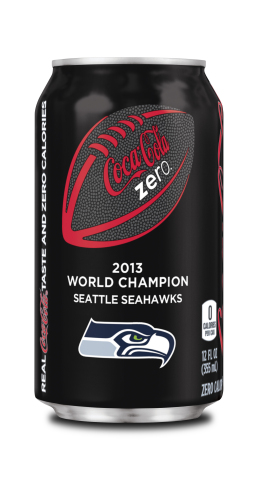 Coke Zero commemorative World Champion can. (Photo: Business Wire)