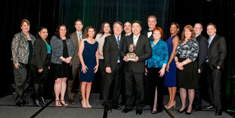 Home2 Suites by Hilton announced its top performing properties in 2013 at the inaugural awards ceremony that was held during the brand's second annual Home2 Suites by Hilton leadership meeting in San Antonio. (Photo: Business Wire)