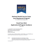 NHSC Loan Repayment Program Application Guidance