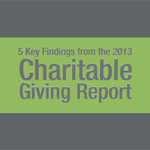 Steve MacLaughlin, director of Blackbaud's Idea Lab, shares 5 key findings from the 2013 Charitable Giving Report.