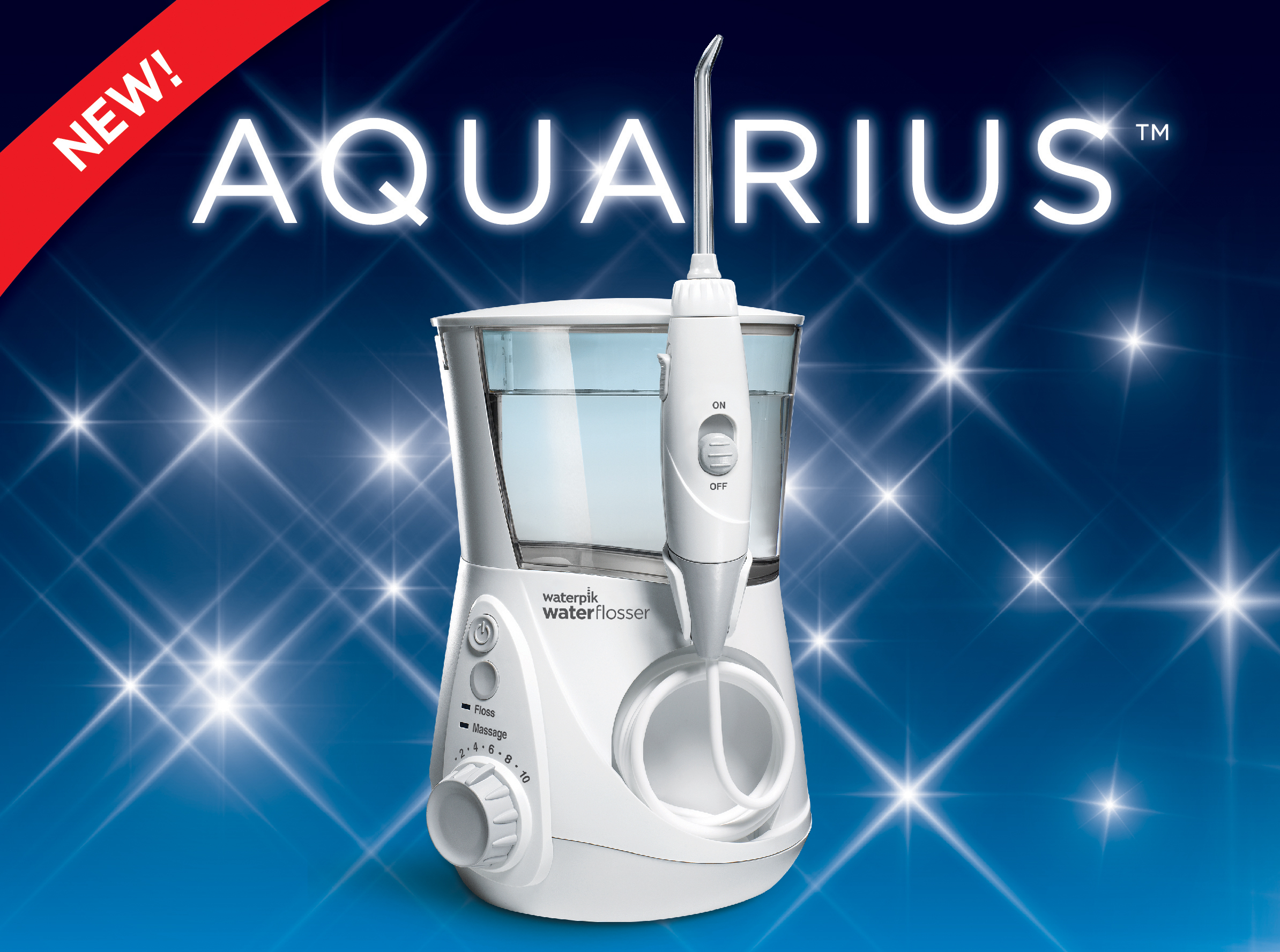water pik announces dawn of a new age in oral health care with waterpik aquarius professional. Black Bedroom Furniture Sets. Home Design Ideas