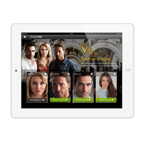 UVideos - Select a TV Friend (Photo: Business Wire)