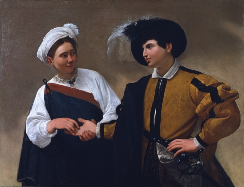 Caravaggio, The Fortune Teller (ca. 1594-95): On view at the  Muscarelle Museum of Art; on loan from the Musei Capitoline Pinacoteca, Rome. (Photo: Business Wire)
