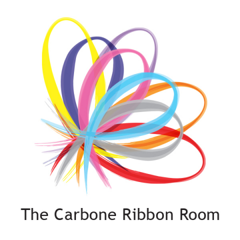 Carbone Ribbon Room logo represents multiple cancer awareness ribbons (Graphic: Business Wire)