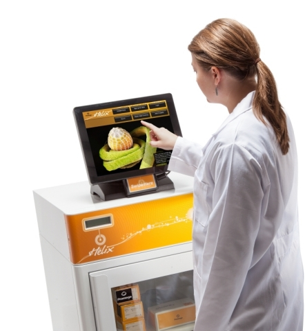 Promega Helix(TM) touchscreen interface provides customers with access to self-service features in l ...