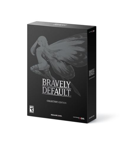 Fans who purchase the collector's edition of Bravely Default (launching Feb. 7 at the suggested retail price of $49.99) will receive the game's wonderful soundtrack, as well as select AR Cards and an artbook. The collector's edition will be available at select retailers. (Graphic: Business Wire)