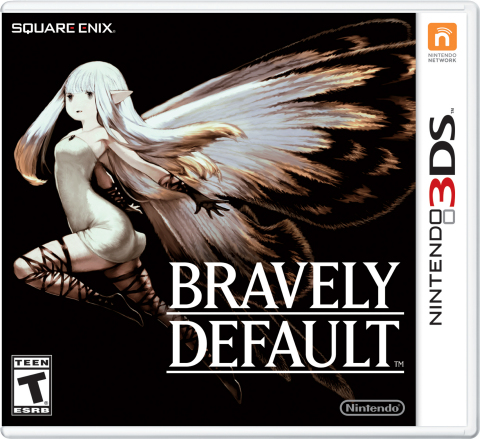 Bravely Default follows the story of main character Tiz, a humble shepherd and the lone survivor of a cataclysmic event, as he joins a group of loyal companions on a journey to restore balance to the world. (Graphic: Business Wire)