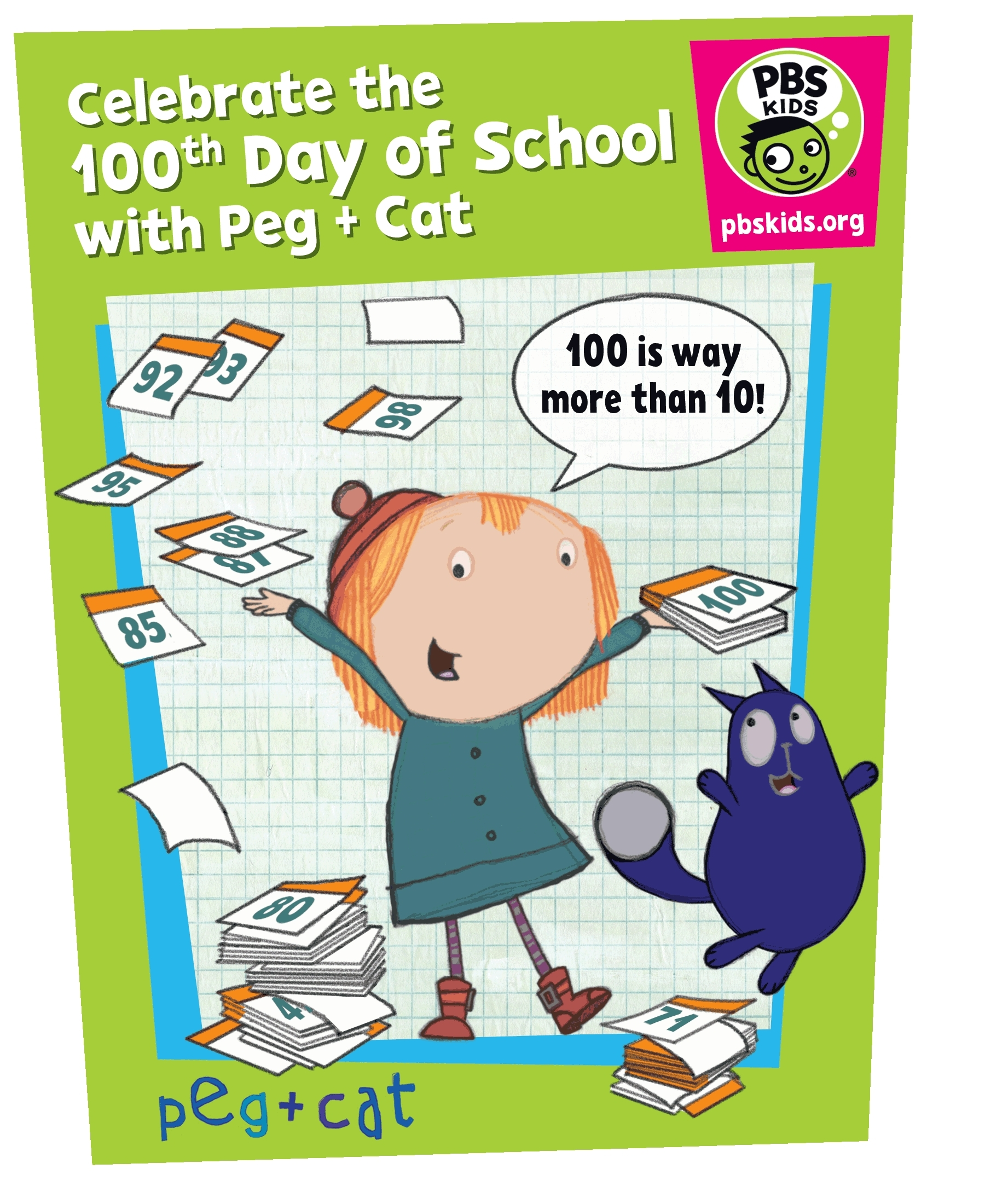 PBS KIDS Celebrates the 100th Day of School with Interactive Math ...