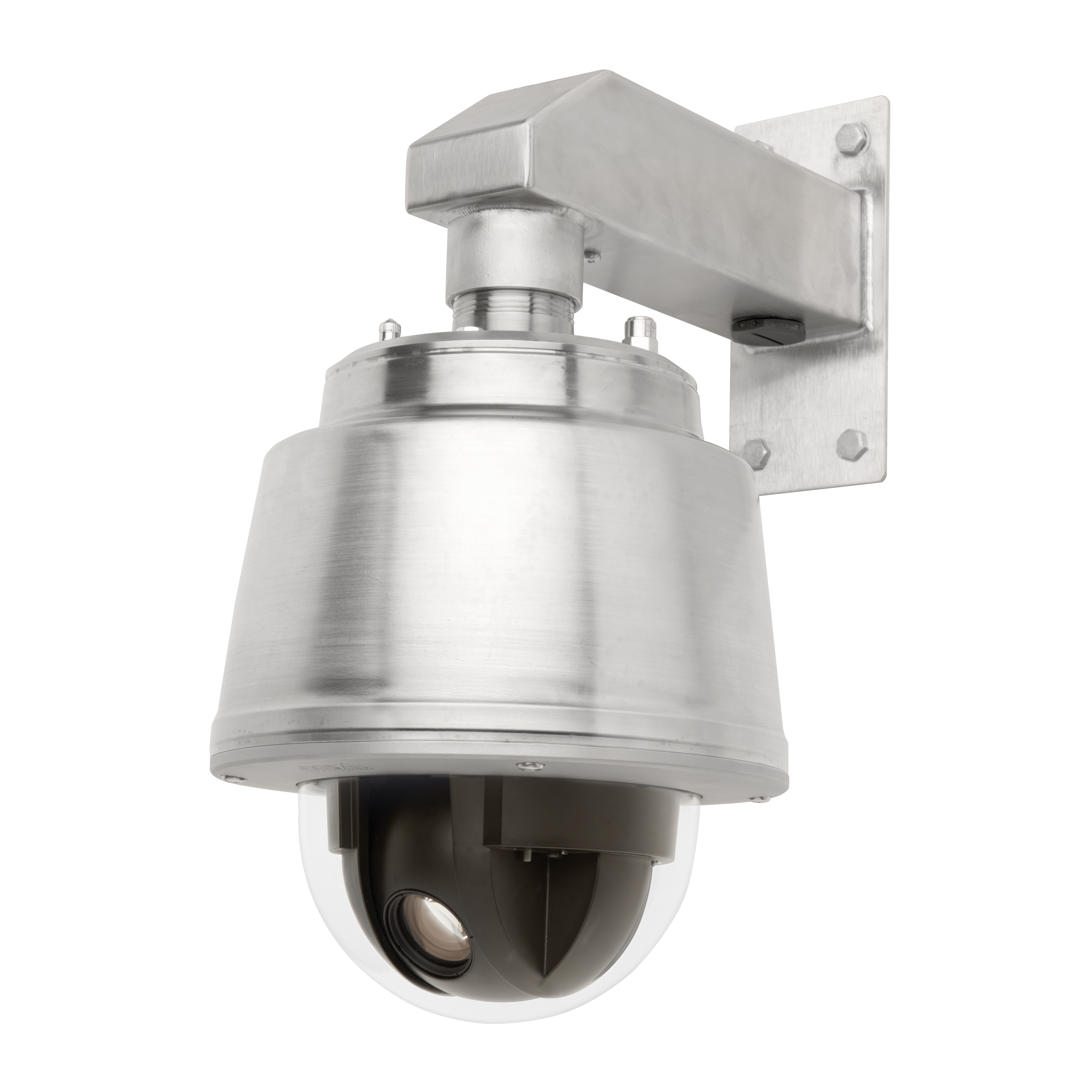 AXIS Q60-S PTZ Domes are nitrogen-pressurized, stainless steel cameras ideal for harbors, mining, and oil and gas sites, as well as food, medical, and clean room facilities. (Photo: Business Wire)