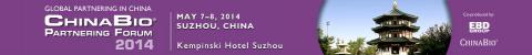 ChinaBio® Partnering Forum® 2014