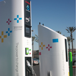 NRG eVgo electric car fast charging station in California