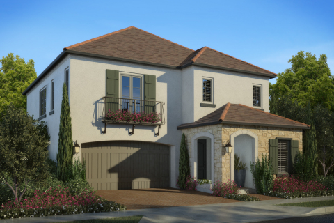 Laurel home at Cypress Village: new homes in walking distance to new schools in award-winning Irvine Unified School District (Photo: Business Wire)