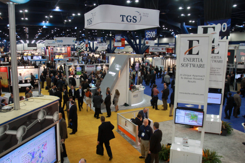 Almost 900 exhibitors and 16,500 attendees filled 12 acres of the George R. Brown Convention Center in Houston at 2014 Winter NAPE. As they have for the last 21 years, attendees took advantage of unparalleled networking opportunities that have made NAPE, the world's largest E&P (upstream) expo, a must-attend event for folks in the oil and gas industry. The Expo brings prospects and producing properties (from the U.S. and around the world), capital formation, services and technologies together in one location, creating an environment to establish strategic alliances for doing business and initiating purchases and trades. Photo Credit: Gary Fountain
