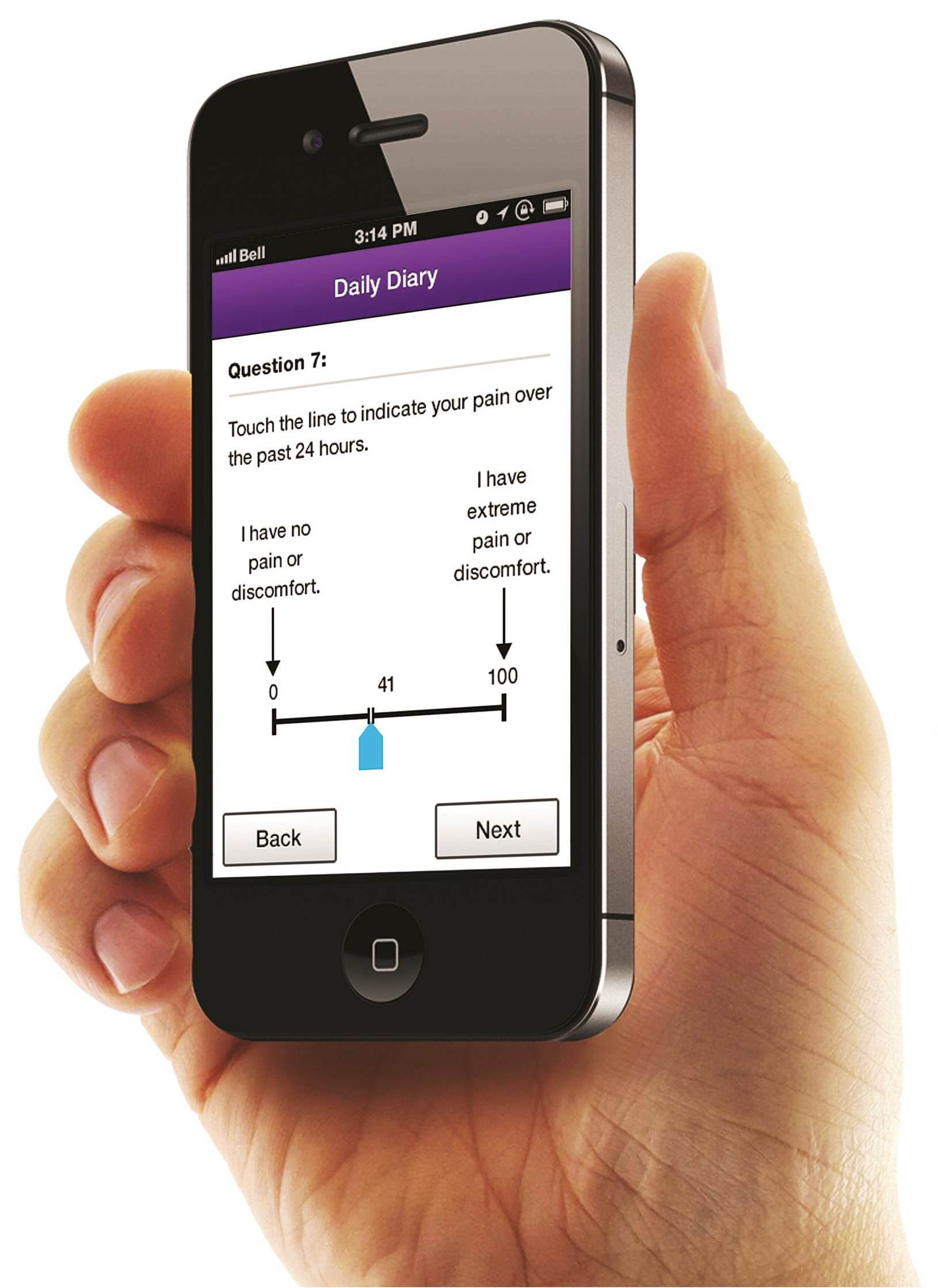The PHT Corporation LogPad App System collects compliant patient reported outcomes (PROs) using Apple(R) and Android smartphones (Photo: Business Wire)