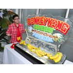 In this photo provided by Nintendo of America, Rico Rodriguez of Modern Family chills out after getting some hands-on time with Donkey Kong Country: Tropical Freeze at the Annenberg Beach House in Santa Monica, Calif., on Feb. 6, 2014. The newest game in the beloved Donkey Kong series launches Feb. 21 for Nintendo's Wii U system.