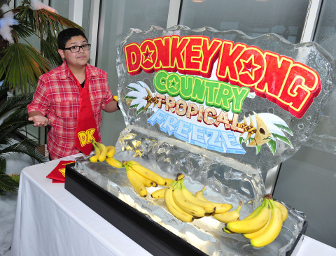 In this photo provided by Nintendo of America, Rico Rodriguez of Modern Family chills out after gett ...
