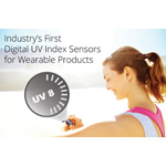 Industry's first single-chip digital UV index sensor solution for wearable computing products (Photo: Business Wire)