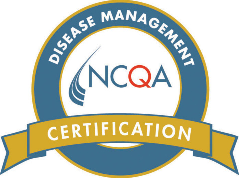 NCQA Disease Management Certification Seal (Graphic: Business Wire)