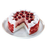 Red Velvet Blizzard Treat DQ® Cake (Photo: Business Wire)