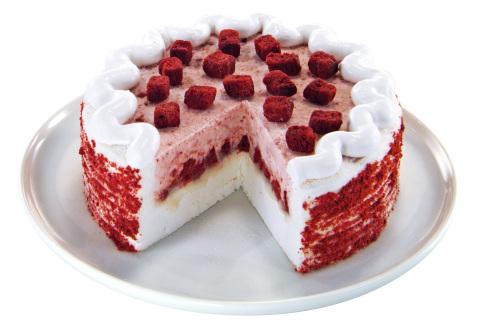 Red Velvet Blizzard Treat DQ® Cake (Photo: Business Wire)
