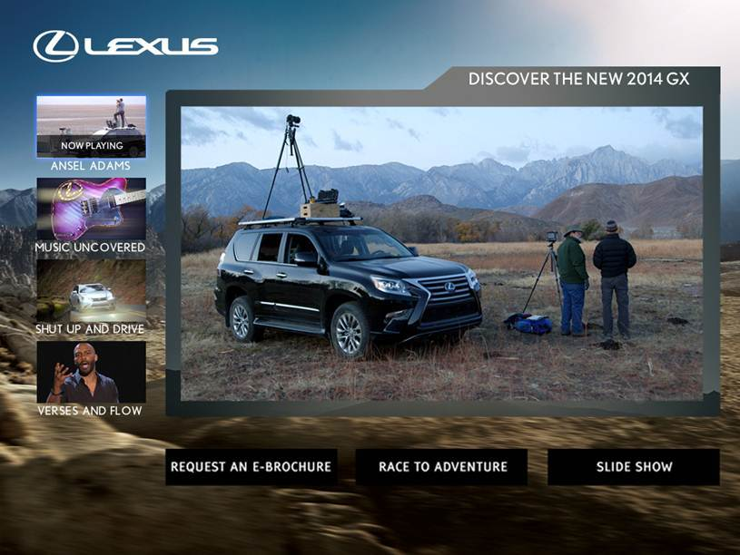 The Lexus-branded channel available to Xfinity TV customers through Comcast Media 360. (Graphic: Business Wire)