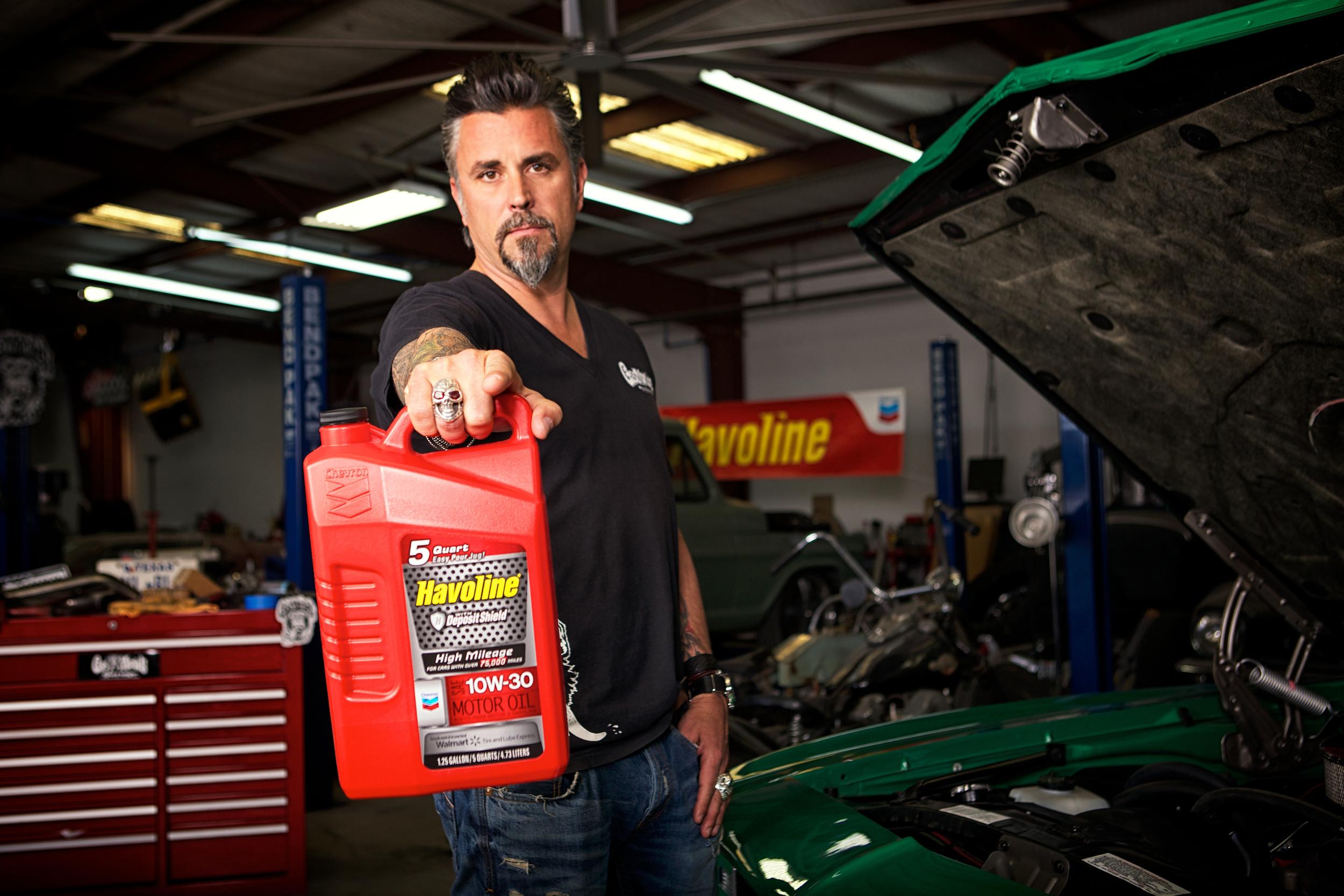 Gas Monkey Garage : Chevron s havoline brand selected as preferred motor oil for gas