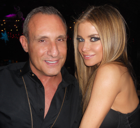 Singer Carmen Electra (right) will be among the guests and dignitaries on hand for Jeffrey Sanker's Palm Springs Walk of Stars dedication ceremony on March 13, 2014. The ceremony will be held at the corner of Palm Canyon Drive and Arenas Road at 1pm. (Photo: Business Wire)