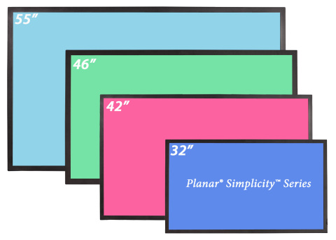 Planar Simplicity Series - Sizes (Graphic: Business Wire)