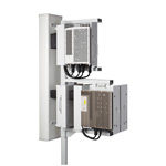 Andrew SiteRise Standard Interface simplifies the interface between the base station antenna and virtually any remote radio unit, making it easier to do field replacements and upgrades. (Photo: Business Wire)