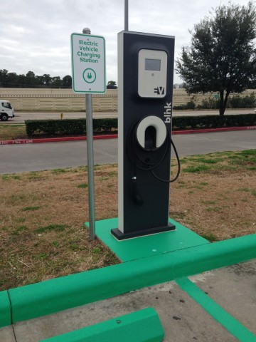 HOUSTON, TX - IKEA, the world's leading home furnishings retailer, today officially plugged-in two Blink® electric vehicle (EV) charging stations at its Houston store as part of its partnership with Car Charging Group, Inc. (Photo: Business Wire)