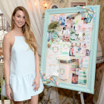 "Whitney Port with one of four inspiration boards at Wedding Paper Divas Presents: ""Whitney Port's Love Story"" at Mari Vanna Los Angeles on February 11, 2014 in West Hollywood, California (Photo by Michael Kovac/Getty Images for Wedding Paper Divas)"
