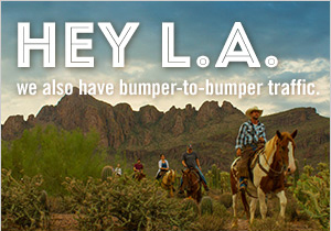 Arizona Office of Tourism L.A. advertising (Photo: Business Wire)