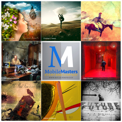 A sample of the mobile photographers represented in last year's Mobile Masters eBook edition in iTunes now. http://bit.ly/MobileMasters1 (Photo: Business Wire)